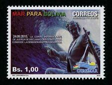 Bolivien Bolivia 2016 Mar Para Bolivia Ein Meer für Bolivien Welle Diremar MNH