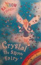Rainbow Magic, #8 Crystal The Snow Fairy,  By Daisy Meadows, GC~P/B    FREE POST