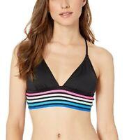 La Blanca 259329 Women's Cross Back Triangle Bikini Top Swimwear Size 8