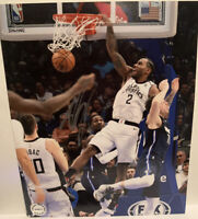 Kawhi Leonard Autographed Hand Signed 8x10 Picture Los Angeles Clippers w/ COA