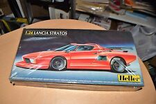 Heller Model Kit Lancia Stratos 1/24 Scale NEW
