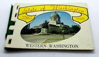 Vintage, Western Washington, Miniature Attractions Booklet,
