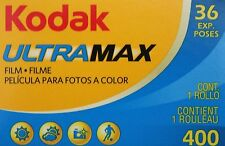 Lot 6 pellicules photo 400 36 poses couleur Kodak 24x36 Ultra Max périmé =Prix !
