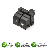 Double Electric Window Switch Button Front For Seat VW
