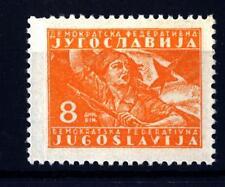 YUGOSLAVIA - JUGOSLAVIA - 1945-1947 - Francobolli del 1945: Partigiano