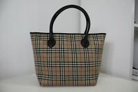 Vintage BURBERRY'S Nova Check Handbag Made In England