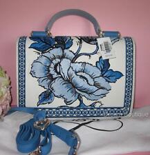 Brighton BELLA CAPRI Organizer Embroidered Crossbody Handbag Purse NWT $370