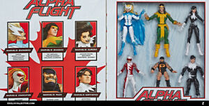 Marvel Legends ALPHA FLIGHT Box Set 6'' (Hasbro) Brand New. Puck Shaman