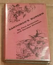 EARTHMAN'S BURDEN HC 1957 1ST EDITION POUL ANDERSON GORDON DICKERSON DUST JACKET