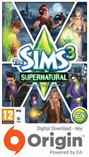 THE SIMS 3 SUPERNATURAL EXPANSION PACK PC AND MAC ORIGIN KEY