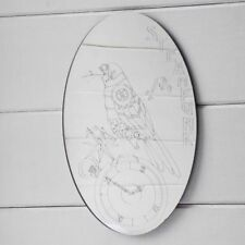 Frameless Oval Decorative Mirrors