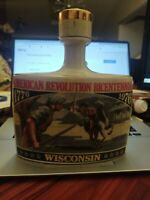 Early Times American Revolution Bicentennial - Whisky Bottle Decanter Wisconsin