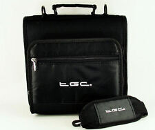 New Jet Black Shoulder Carry Case Bag for the Samsung Galaxy 10.1 Tablet