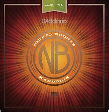 15-52 D/'Addario EJ76 Cuerdas para mandola de bronce fosforado calibre medio