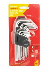 9pc Anti Tamper Security Hole Hollow Torx Key 6 Point Star Drive Wrench Set