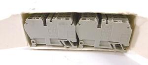 50 Stück Allen Bradley 1492-R3 Terminal Blocks NEU OVP