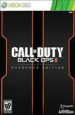 Call of Duty Black Ops II 2 Hardened Edition Xbox 360 Brand New Factory Sealed