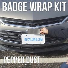 PepperDust Car Emblem Wrap Kit - Chevy Cruze Malibu Custom BowTie Badge Decal 3M