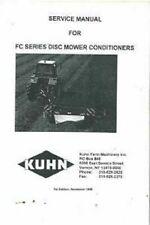 Kuhn Mower Conditioner F200 Fc202 Fc250 Fc300 F301 Fc350 Workshop Service Manual