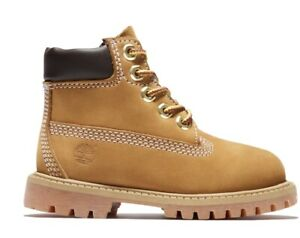 Toddlers Size 4 Wheat Timberland Leather Casual Boots 10860 VGUC