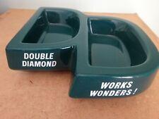 Double Diamond, Works Wonders , ashtray, Bristol Pottery
