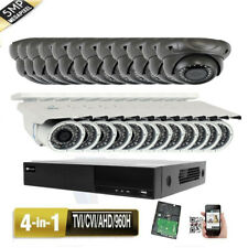 32Ch All-in-1 Dvr 5Mp 4-in-1 9-22mm Zoom Varifocal 24pcs Security Camera System