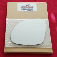 Mirror Glass + Adhesive For 09-17 Volkswagen Tiguan Driver Side Replacement-Heat
