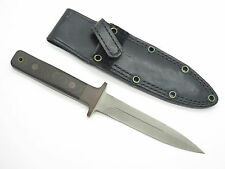 "VTG AL MAR SEKI JAPAN 10"" FANG II MICARTA HANDLE DAGGER KNIFE NON GLARE ~ RARE"