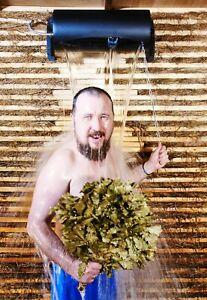 Russian Sauna Shower Waterfall Pouring System Bath Banya SPA 15 L