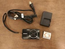 Sony Cyber-shot DSC-W570 16.1MP Digital Camera - Blacke - Excellent Condition!