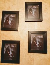 Lot of 4Star Wars The Force Unleashed Block Buster exclusive framed  lithograph