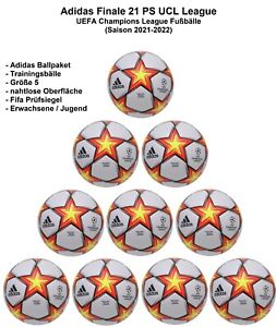 Adidas Finale 21 League UCL Pyrostorm nahtlos Fußball Ballpakete Trainingsbälle