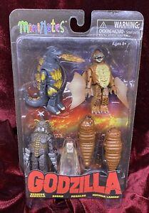 Minimates Godzilla Series 3 Boxset - 2016 - OOP - New - Rare