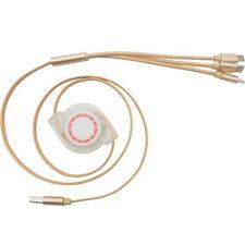 3 en 1 retráctil Micro Tipo C 8Pin USB Cargador Cable de datos para iPhone Android