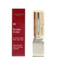 Clarins Rouge Eclat Satin Finish Age Defying Lipstick 08 Coral Pink 3g