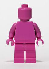 LEGO Dark Pink Monochrome Minifigure