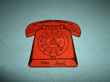 Vintage Mexican Ropa/Clothes Spanish Advertisement Telephone Llamada Urgente