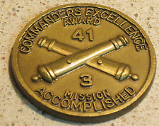 Commanders Excellence Award - Mission Accomplished  3rd Battalion challenge coin