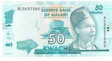 Malawi fifty kwacha 2016