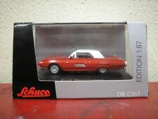 Schuco 1963 Ford Thunderbird Red and White 1/87