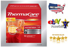 ThermaCare Lower Back & Hip L/XL, 10 HeatWraps NEW IN BOX