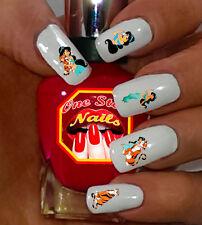 Disney Aladdin Jasmin Nail Art Stickers Transfers Decals Set of Da001-60