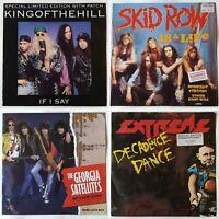 4x rock vinyl joblot. Skid Row, Extreme, Kingofthehill, Georgia Satellites. glam