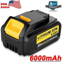 NEW For DEWALT 20V MAX Lithium-ion 6.0Ah Battery DCB205 DCB204 DCB200 Fuel Gauge