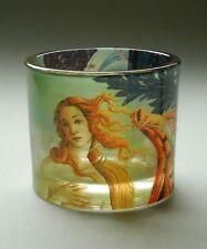 """Musée verre pour chauffe-plats - """" Botticelli - Naissance de Venus """" -"""