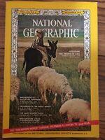 National Geographic Magazine December 1966, Abraham, Massachusetts, Laser, Insec