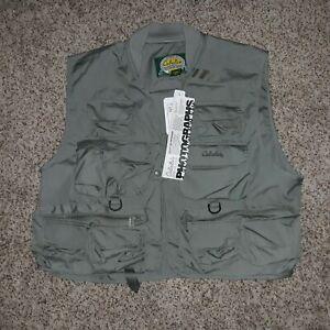 New Cabela's Willow Creek Fly Fishing Vest Large