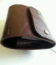 .303 10 round Bullet wallet. Brown real leather. With studs.