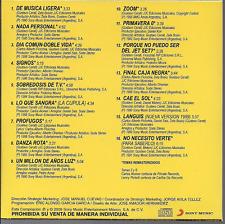 rare ROCK español 80s 90s CD sleeve SODA STEREO de musica ligera NADA PERSONAL
