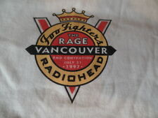 Rare Foo Fighters / Radiohead Original Vintage GigT-Shirt 1997